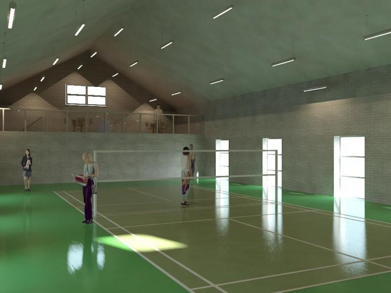 Eksempel med badminton